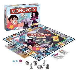 🤓 Steven Universe Monopoly board game NEW